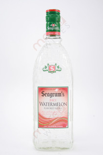 Seagram's Juicy Watermelon Flavored Vodka 750ml