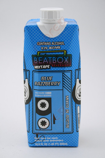 Beatbox Mixtape Blue Razzberry Mixed Drink 16.9fl oz