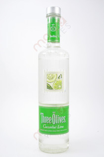 Three Olives Cucumber Lime Vodka 750ml