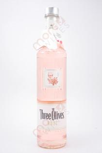 Three Olives Rose Vodka 750ml