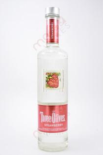 Three Olives Strawberry Vodka 750ml