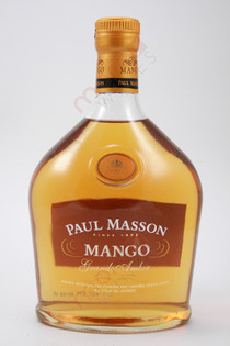 Paul Masson Mango Grande Amber Brandy 750ml