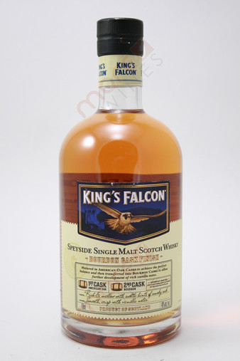 King's Falcon Single Malt Scotch Whisky 750ml