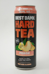 Best Damn Peach Hard Tea 25fl oz