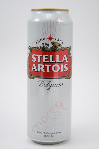 Stella Artois Premium Lager 19.2fl oz