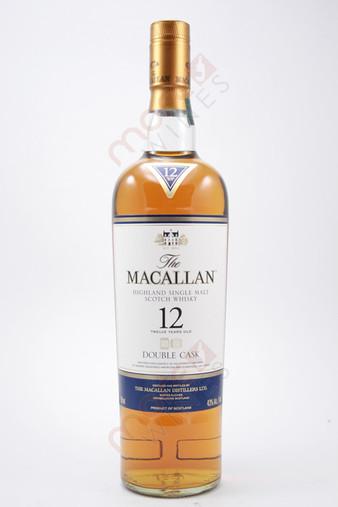 The Macallan Single Malt Scotch Whisky Double Cask 12 Years 750ml