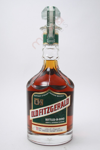 Old Fitzgerald 100 Proof Bottled in Bond 11 Year Old Bourbon Whiskey 750ml