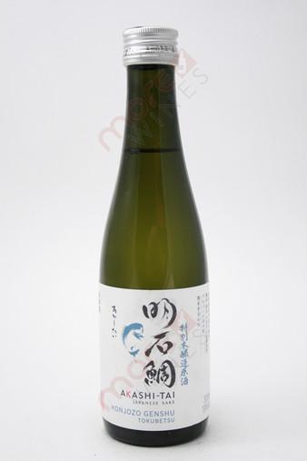Akashi Akashi-Tai Honjozo Genshu Sake 300ml