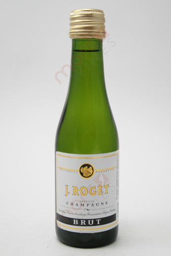 J. Roget Brut American Champagne 187ml