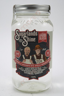 Sugarlands Shine Mark & Digger's Rye Apple Moonshine 750ml