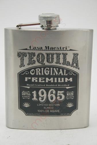 Casa Maestri 1965 Flask Edition Blanco Tequila 200ml
