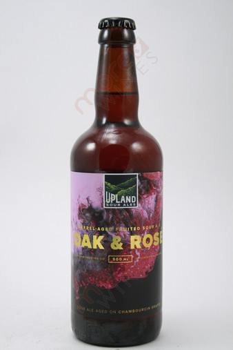 Upland Sour Ales Oak and Rose Ale 500ml
