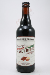 Belching BEaver Barrel Aged Mexican Chocolate Peanut Butter Imperial Stout 22fl oz