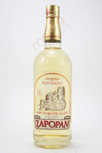 Zapopan Reposado Tequila 750ml