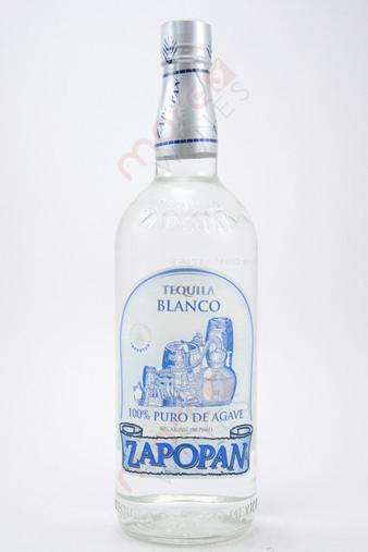 Zapopan Blanco Tequila 1L