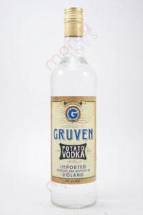 Gruven Potato Vodka 750ml