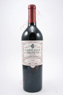 Cartlidge & Browne Cabernet Sauvignon 750ml