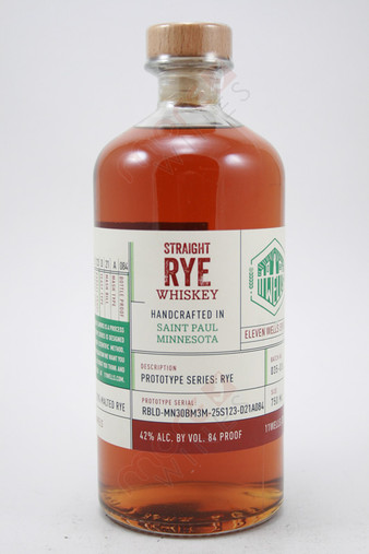 11 Wells Prototype Series Rye Whiskey 750ml