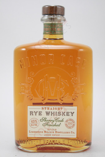 Minor Case Straight Rye Whiskey 750ml