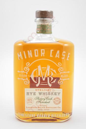 Minor Case Straight Rye Whiskey 750ml
