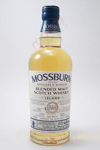 Mossburn Cask Bill 1 Smoke & Spice Island Blended Malt Scotch Whisky 750ml