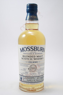 Mossburn Cask Bill 1 Smoke & Spice Island Blended Malt Scotch Whisky 750ml