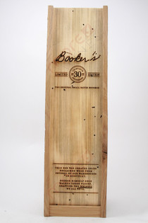 Booker's Limited Edition 30th Anniversary Straight Bourbon Whisky 750ml