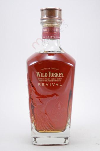 Wild Turkey Master's Keep Revival Oloroso Sherry Casks Finish Kentucky Straight Bourbon Whiskey 750ml
