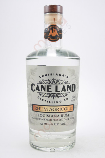 Cane Land Rhum Agricole White Rum 750ml