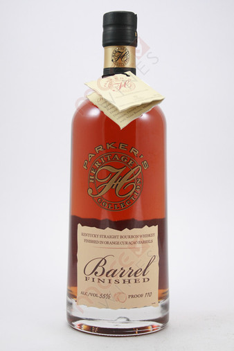 Parker's Heritage Collection 12th Edition Orange Curacao Barrel Finished Bourbon Whiskey 750ml