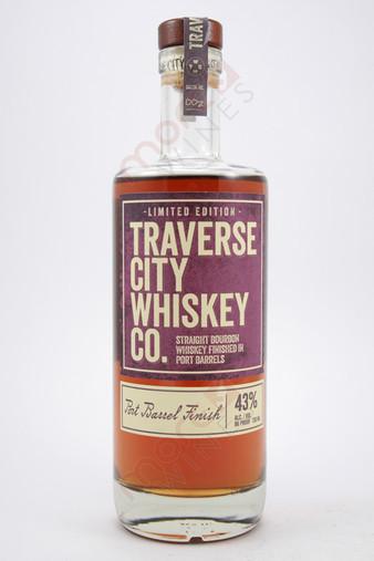 Traverse City Port Barrel Finish Straight Bourbon Whiskey 750ml
