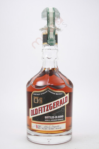 Old Fitzgerald 100 Proof Bottled in Bond 9 Year Old Bourbon Whiskey 750ml