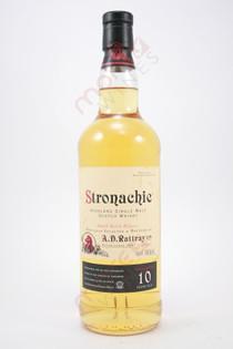 Stronachie Small Batch 10 Year Old Single Malt Scotch Whisky 750ml