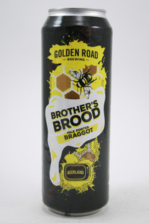 Golden Road Brother's Brood Braggot Milk Porter 19.2fl oz