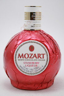 Mozart White Chocolate Strawberry Cream Liqueur 750ml