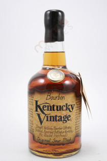 Kentucky Vintage Original Sour Mash Straight Bourbon Whiskey 750ml