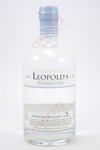 Leopold's Summer Gin 750ml
