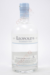 Leopold's Summer Gin 750ml
