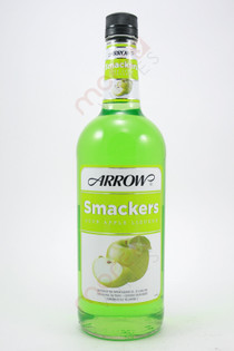 Arrow Sour Apple Smackers Liqueur 1L