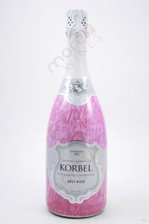 Korbel Brut Rose California Champagne 750ml