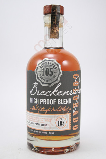Breckenridge High Proof Blend of Straight Bourbon Whiskey 750ml