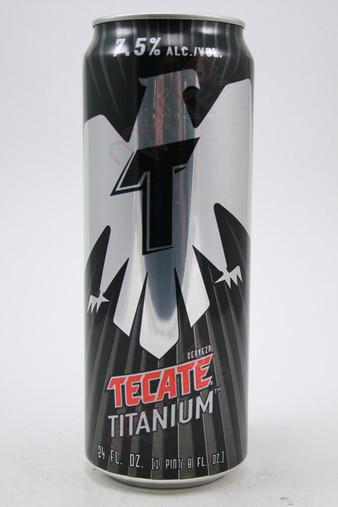 Tecate Cerveza Titanium Beer 24fl oz