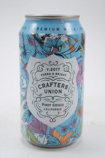 Crafters Union Pinot Gris Can Wine 200ml