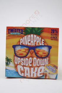 Twisted Shotz Pineapple Upside Down Cake Shot Liqueur 4 x 25ml
