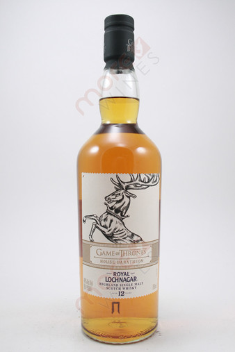 Royal Lochnagar Game of Thrones House Baratheon 12 Year Old Single Malt Scotch Whisky 750ml