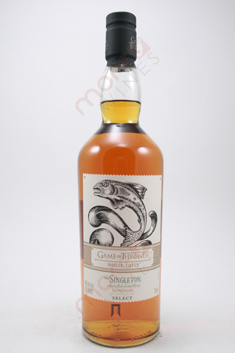 The Singleton of Glendullan Game of Thrones House Tully Select Single Malt Scotch Whisky 750ml