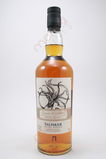 Talisker Game Of Thrones House Greyjoy Select Reserve Single Malt Scotch Whisky 750ml