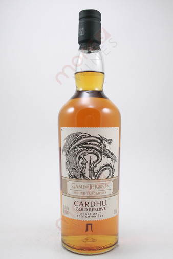 Cardhu Game of Thrones House Targaryen Gold Reserve Single Malt Scotch Whisky 750ml