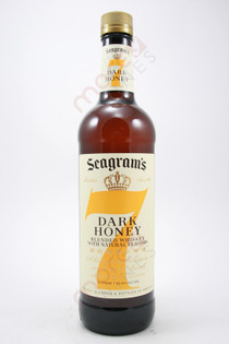 Seagram's 7 Crown Dark Honey Whiskey Liqueur 750ml