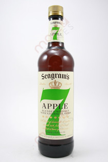 Seagram's 7 Crown Apple Whiskey Liqueur 750ml